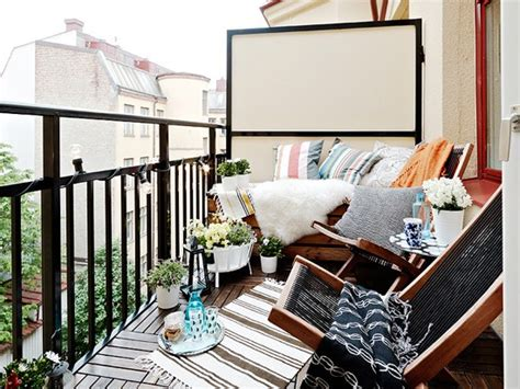 apartment patio screens balcony privacy on small balcony design