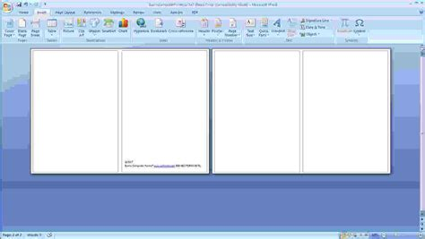 greeting card template microsoft word 2008 mac word birthday card template hcwt step 2a open blank