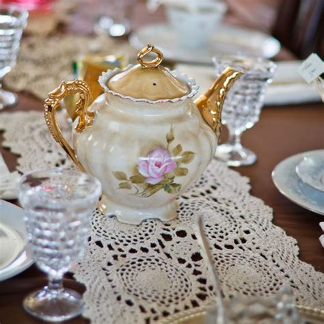 Tea Themed Bridal Shower by Tea Themed Bridal Showers