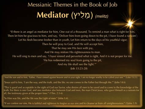 book themes of the bible prayer and bible expo messianic themes in the book of job