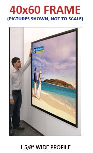 48 X 60 Poster Frame by Large 40x60 Poster Snap Frames 1 5 8 Quot Mitered