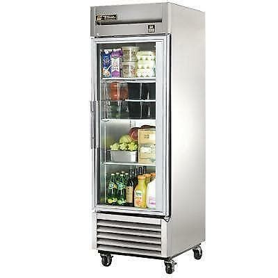commercial glass door refrigerator ebay