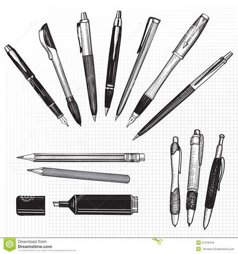 sketchbook and pen pen pencil and marker sketch set seamless paper