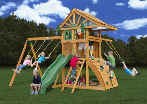 best backyard playsets best backyard swing sets for kids