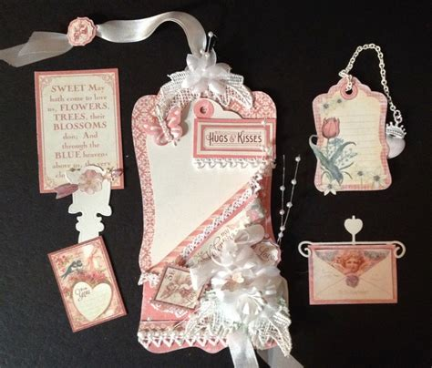 tutorial tags scrapbook annes papercreations how to make tag pockets on and for tags