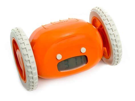Alarm Wheels clocky alarm clock on wheels woot