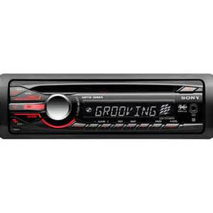 sony xplod cdxgt25mpw car cdmp3 receiver with aux in walmart