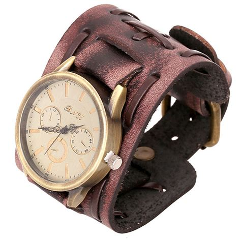new unisex vintage genuine leather bracelets