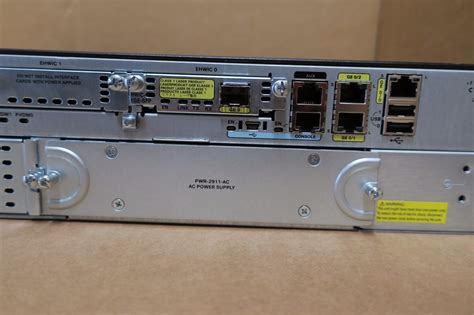 Router Cisco 2911 K9 cisco 2911 cisco2911 k9 integrated services router 2u gigabit wan hwic 1ge sfp