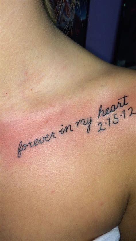 forever in my heart tattoo designs best 25 memory tattoos ideas on memorial