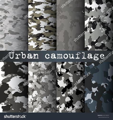 urban pattern vector 8 urban camo patterns set vector 245145874 shutterstock