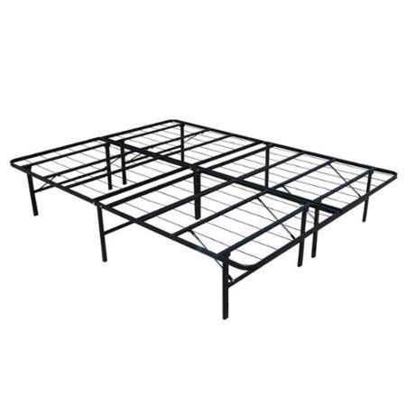 Platform Bed Frame Walmart by Homegear Platform Metal Bed Frame Mattress Foundation