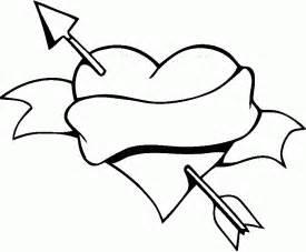 18 dibujos corazones amor colorear pintar imprimir