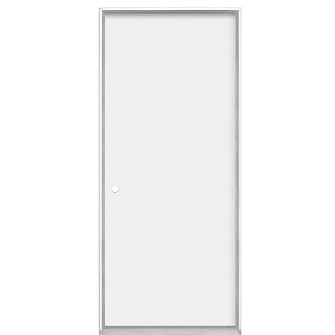 Flush Entry Door shop prosteel flush prehung inswing steel entry door