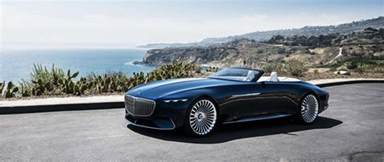 Mercedes Luxury Revelation Of Luxury Vision Mercedes Maybach 6 Cabriolet