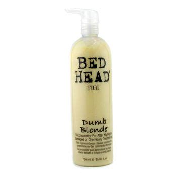 bed head dumb blonde review tigi bed head dumb blonde conditioner reviews photos