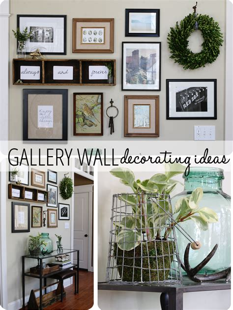 gallery wall ideas gallery wall ideas she sent me what finding home farms