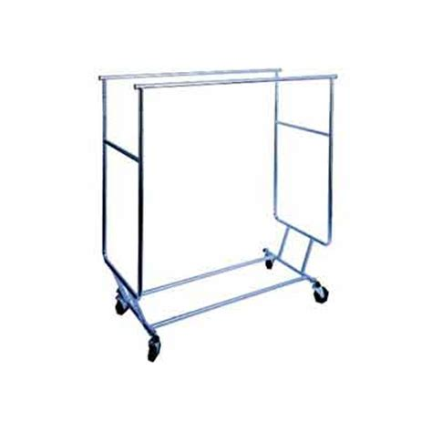 Rolling Rack by Bar Collapsible Rolling Rack Store Fixtures And