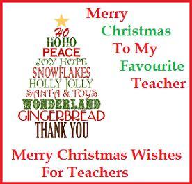 messages teachers