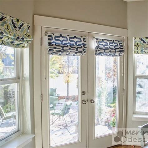 door window curtains de 25 bedste id 233 er inden for french door curtains p 229