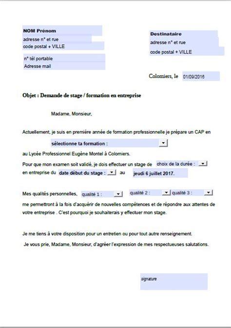 Exemple Lettre De Bienvenue Lycee Professionnel Eugene Montel Lettre De Motivation