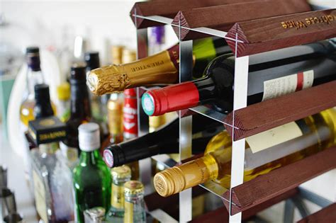 kallax wine rack diy building a home bar essbeevee hertfordshire