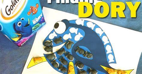 finding dory no 1 at july 4th box office tarzan finding dory nemo goldfish crackers activity for kids