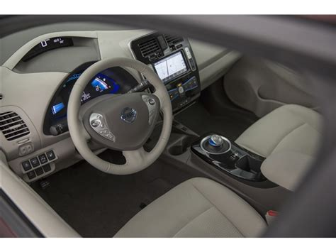 nissan leaf 2017 interior 2017 nissan leaf prices reviews and pictures u s
