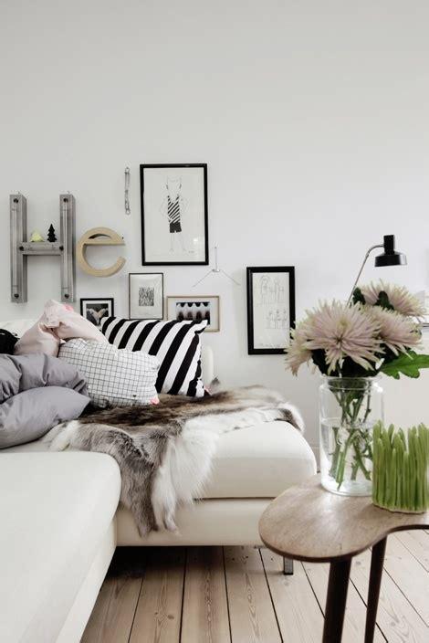 white faux fur decor feng shui interior design