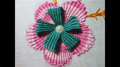 Handmade Embroidery Designs - embroidery designs embroidery flower design