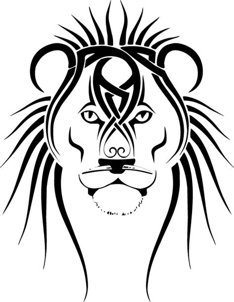 tribal lions tattoos tattoos leo of judah and tribal