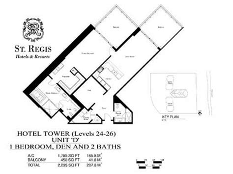 st regis floor plan st regis pre construction for sale in bal harbour florida