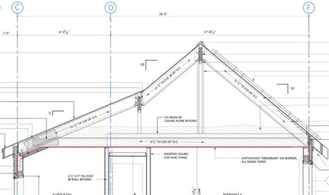 shed roof section roof framing design fine homebuilding