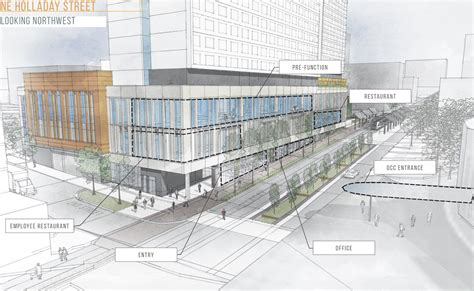 layout of hotel and convention center hyatt regency at the oregon convention center images
