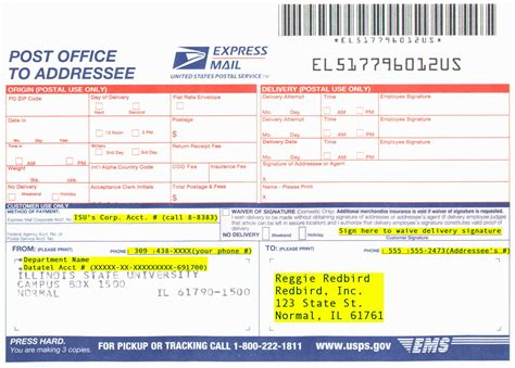 Usps Lookup Usps Express Mail Tracking Number Www Pixshark
