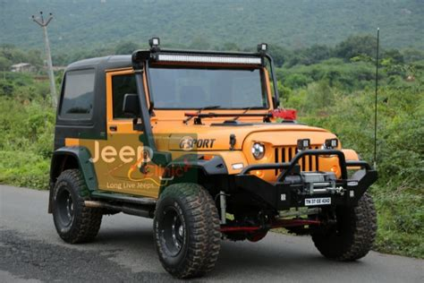 mahindra jeep thar modified modified mahindra thar