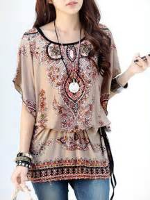 Home Decor Gifts Online India floral print bohemian style tops e25472 cilory com