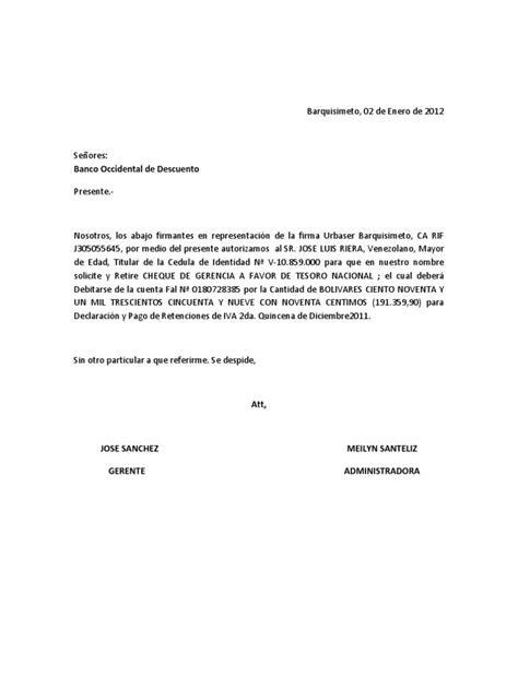 carta de autorizacion de padres word carta de autorizacion cheque gcia
