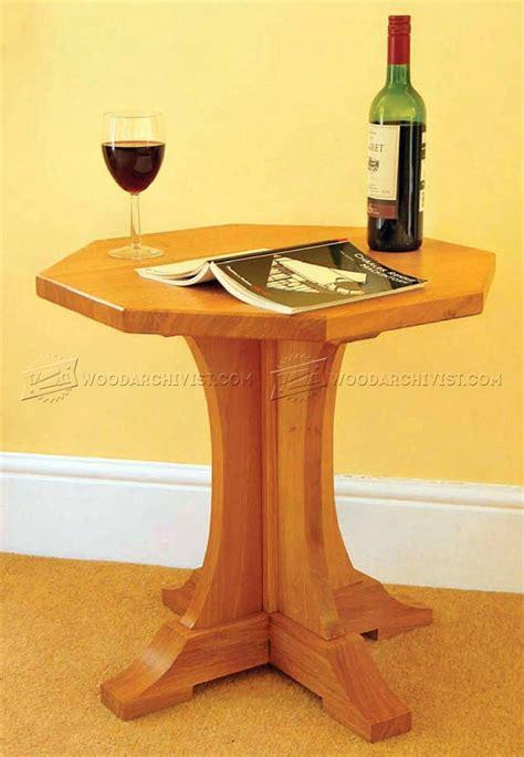 octagon table plans octagon table plans woodarchivist