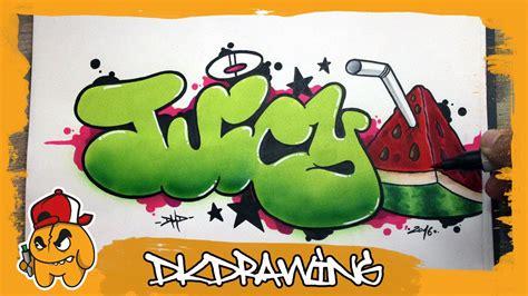 graffiti tutorial   draw juicy graffiti bubble