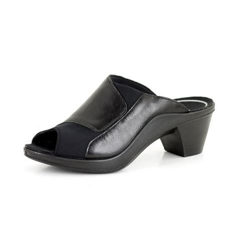 mokassetta 244 27044 black mule sandal