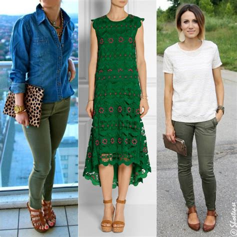 best color shoes to wear with green dress what color