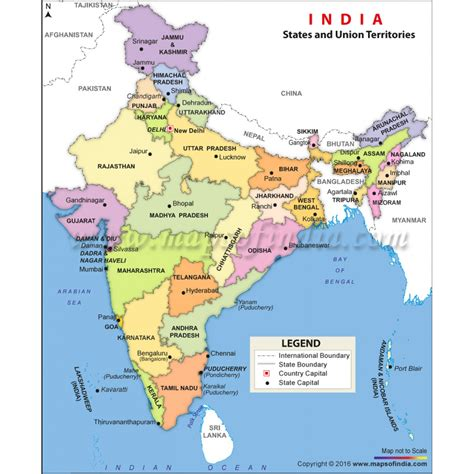 india political map images maps update 800977 tourist map of india places to
