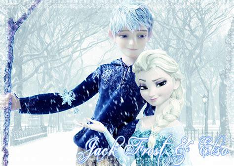 film frozen elsa and jack jack frost and elsa by sabbadoci0us on deviantart