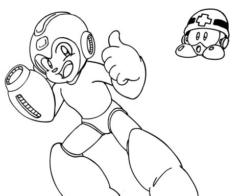 megaman nt warrior free colouring pages