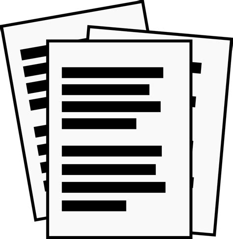 free clip files handling documents clipart