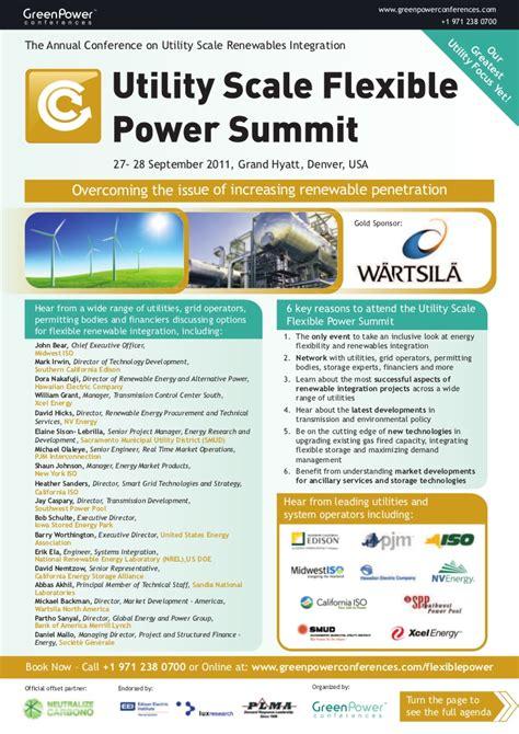 Power Ads Ad 406 14000w utility scale power summit brochure