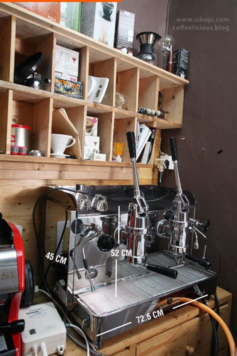 Mesin Kopi Promac replica piston cikopi