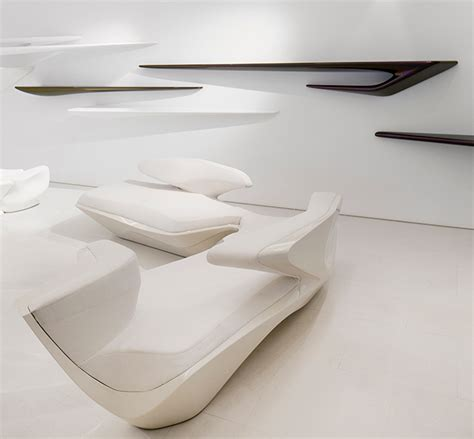 zaha hadid sofa 3d zaha hadid design gallery on behance