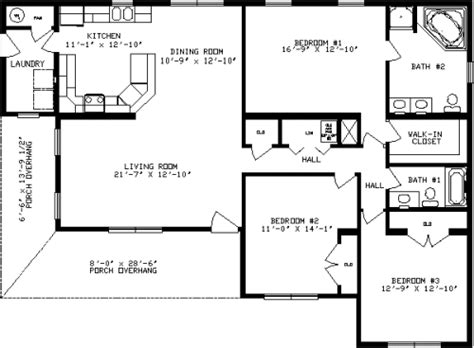 Cape Cod House Plans With Attached Garage by Ashwood By Apex Modular Homes Ranch Floorplan